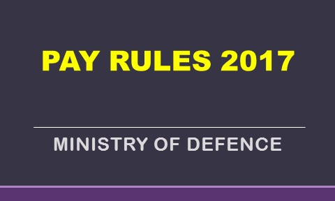 PAY RULES 2017