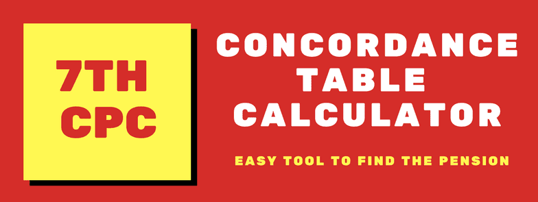 7th CPC Concordance Table Calculator