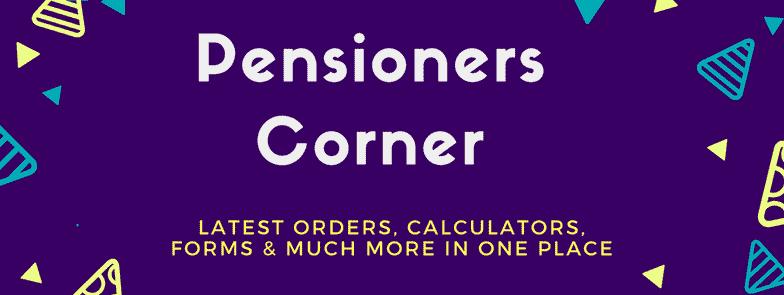 Pensioners Corner