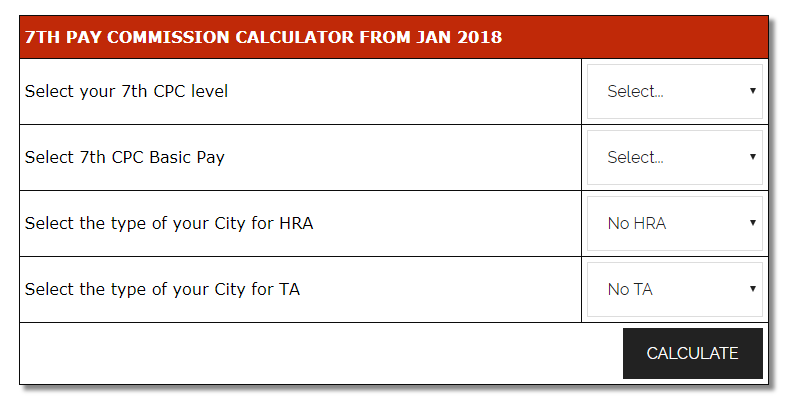7th CPC Calculator Latest