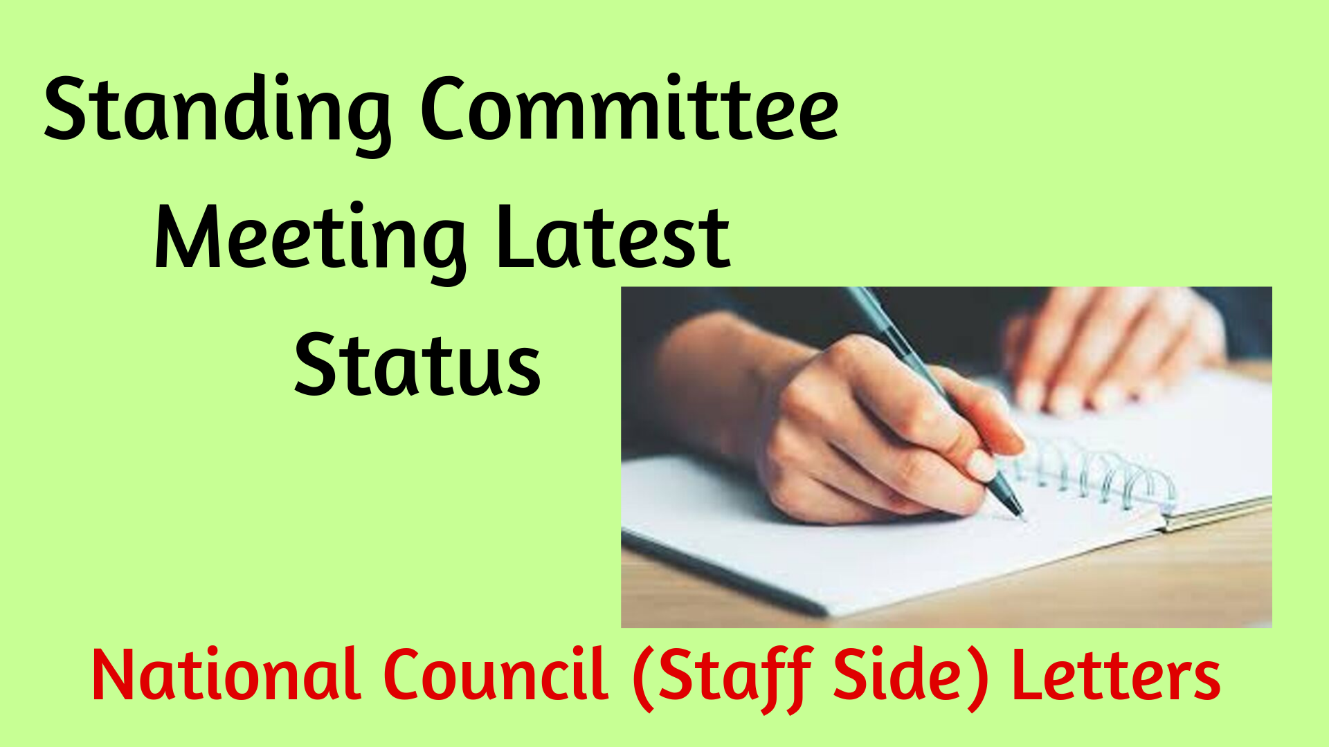 Standing Committee Meeting