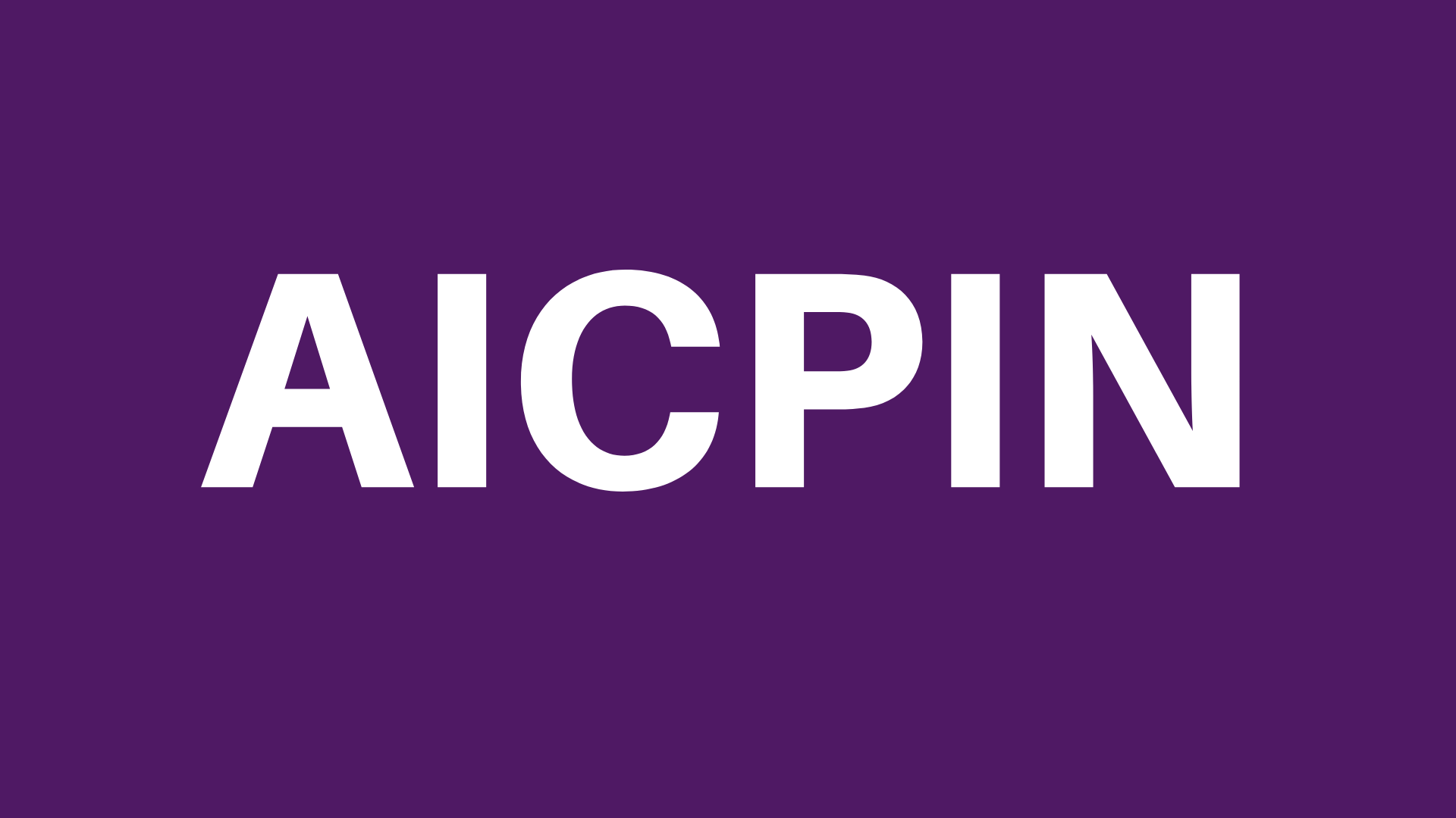 AICPIN for March 2020