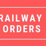 Railway Orders