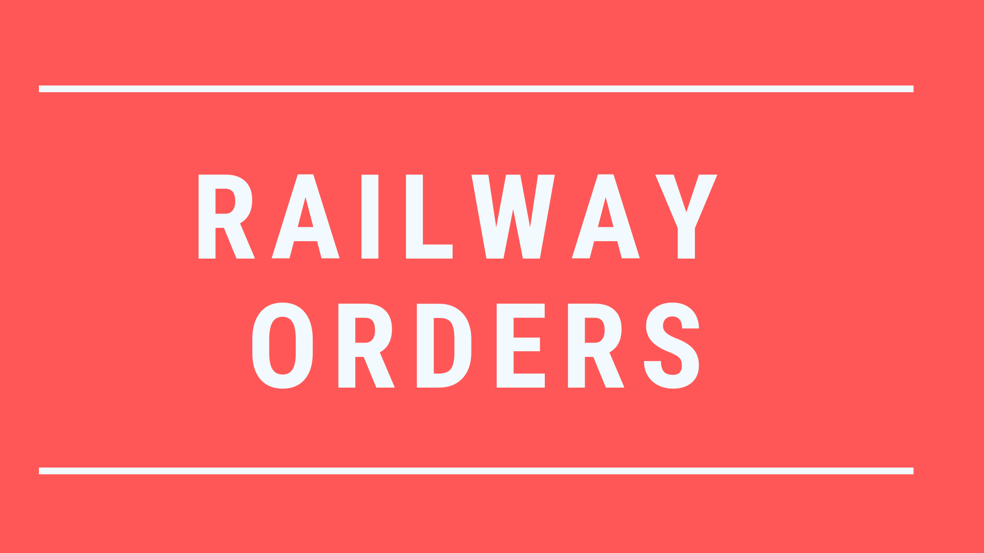Revised Organizational Structure of Railway Board