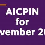 AICPIN for Nov 2019