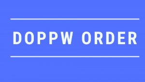 DOPPW ORDER