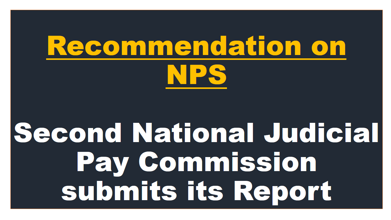 Second National Judicial Pay Commission
