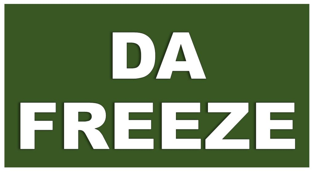 DA Freeze for Haryana Government Employees