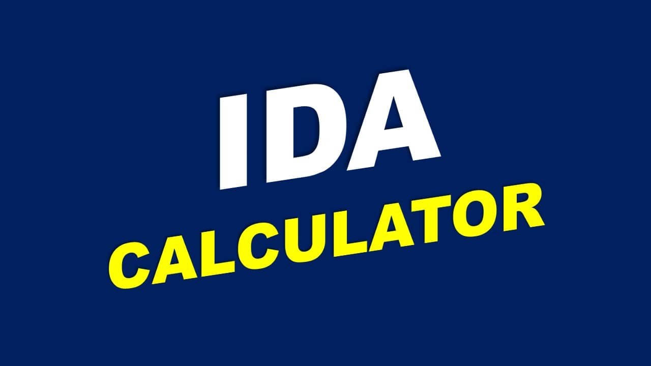 Expected Ida From July 2020 Calculator Central Government
