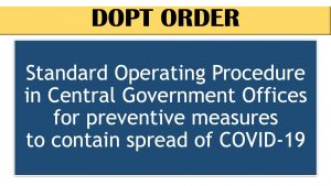 DOPT Standard Operating Procedure