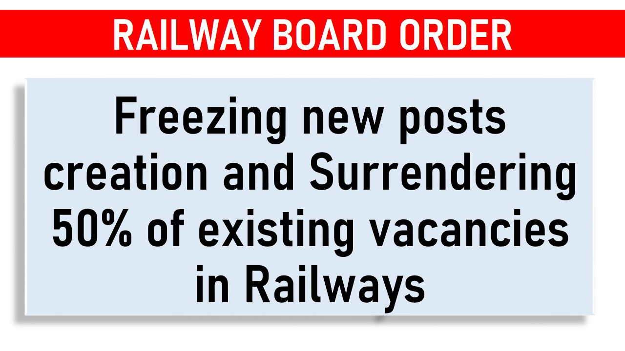 Freezing new posts creation in Railways