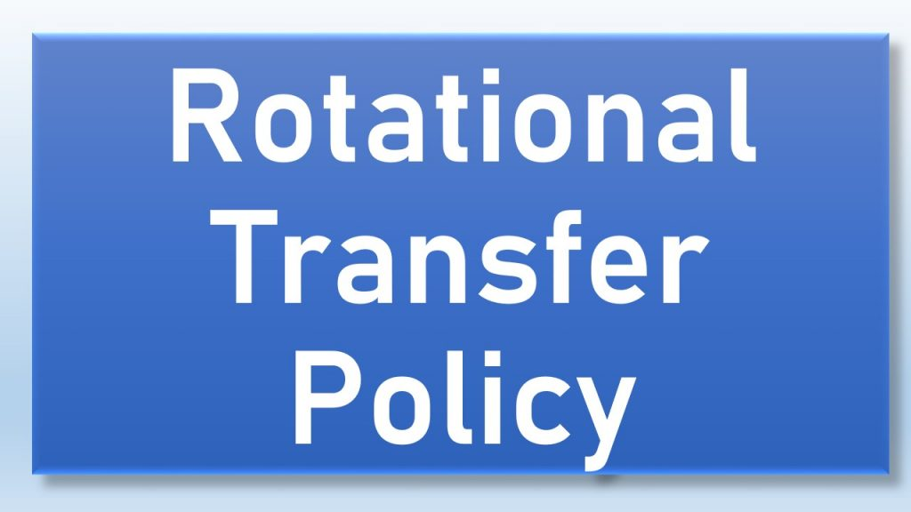 Rotational Transfer Policy
