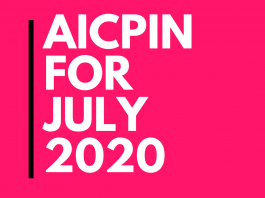AICPIN for July 2020