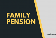Suspension of family pension