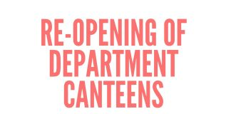 Department Canteens
