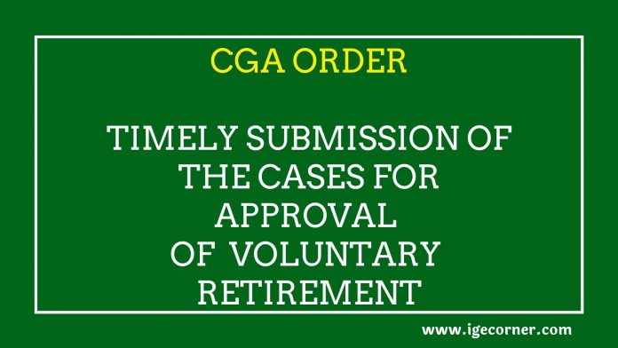 voluntary retirement