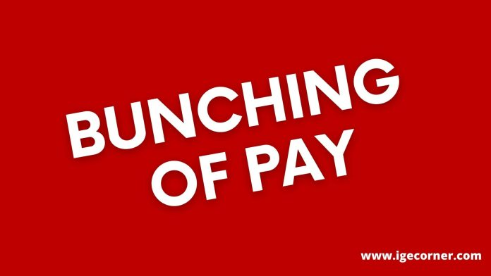 Bunching of pay