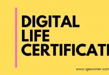 Digital Life Certificate