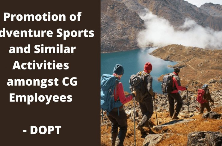 Adventure Sports for Central Govt Employees