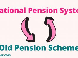 NPS to Old Pensions Scheme