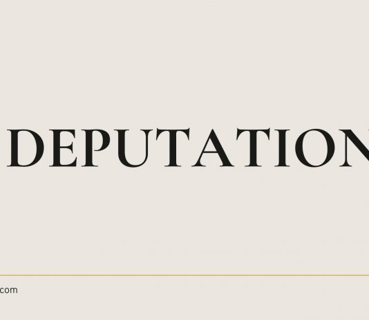 CSS officers for deputation