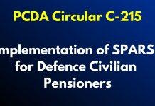 PCDA Circular C-215