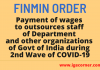 wages to outsources staff