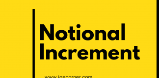 Eligible for Notional Increment for Pensioners