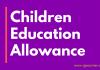 Children Education Allowance during Lockdown