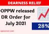 DR Order July 2021