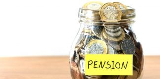 First Credit of pension